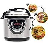 Cecotec Olla GM Programable Modelo D. Robot de Cocina multifunción,Capacidad de 6 litros (hasta 12 raciones), programable 24/7, 11 menús