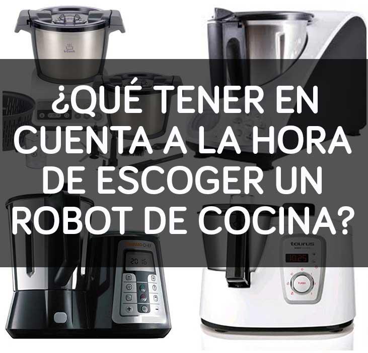 escoger robot de cocina