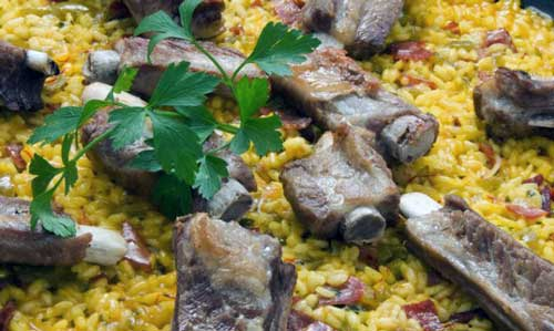 arroz con costilas thermomix