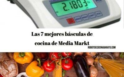Las 7 mejores básculas de cocina de Media Markt