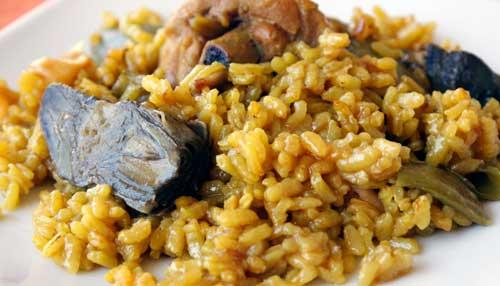 estofado de cerdo con arroz