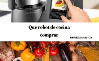 Qué robot de cocina comprar