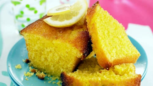 receta bizcocho de yogur de limon casero