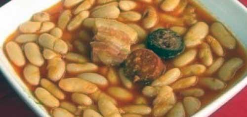 receta de alubias blancas con chorizo morcilla y panceta