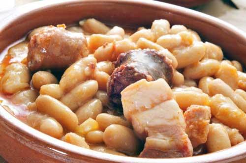 receta de fabes con chorizo