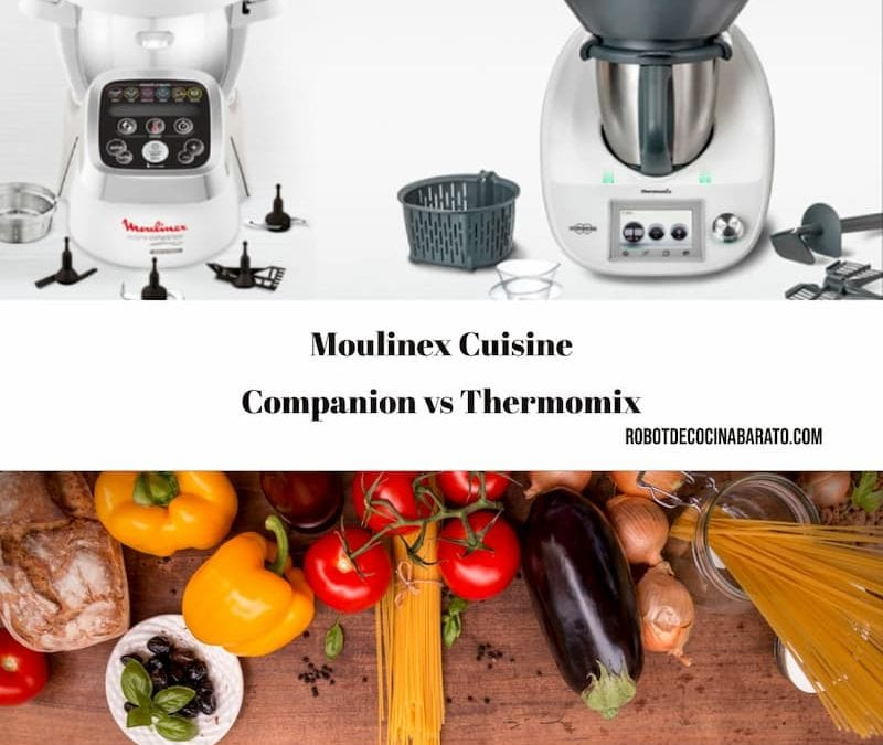 Moulinex Cuisine Companion vs Thermomix