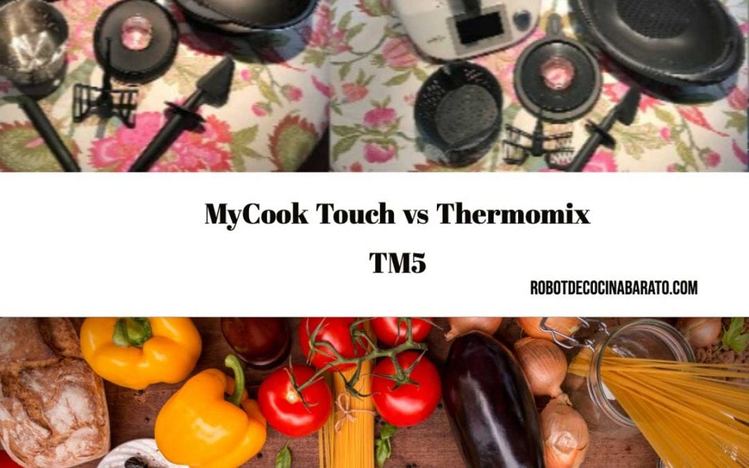 MyCook Touch vs Thermomix TM5