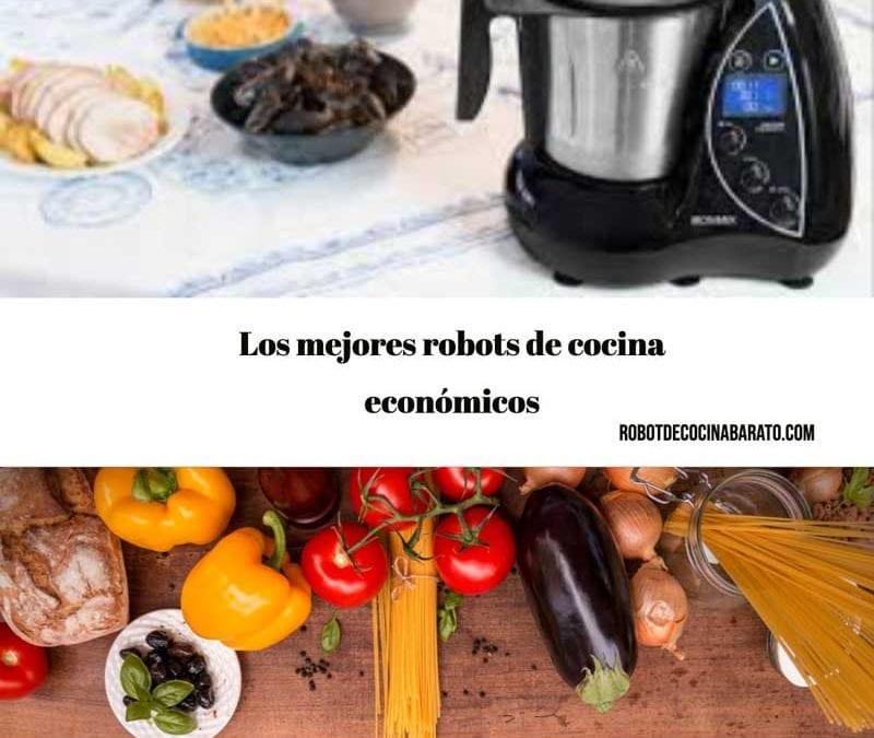 Los mejores robots de cocina económicos