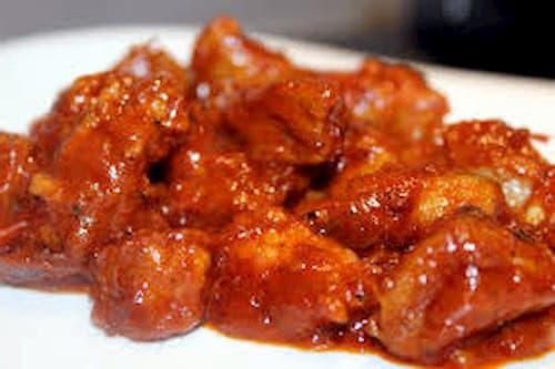 carne con tomate olla rapida