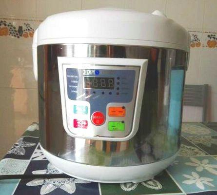 Cooker Matic bizcocho
