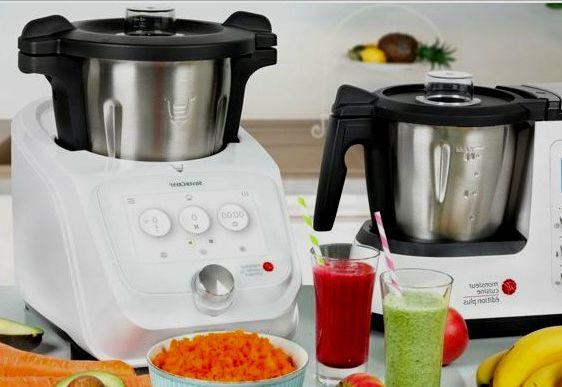 Robot de cocina Lidl microfono
