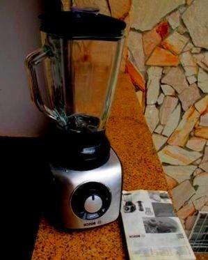 batidora de vaso bosch silentmixx pro con jarra de cristal