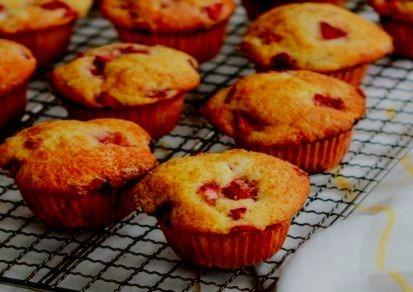 como hacer muffins de chocolate