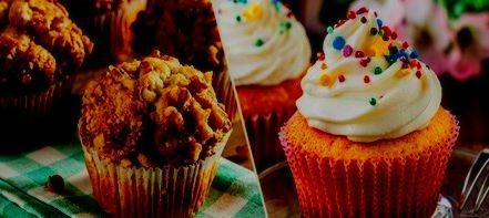 como hacer muffins saludables