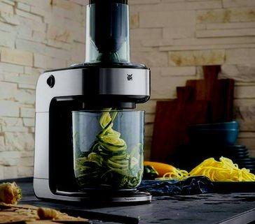 cortador de verduras en espiral electrico