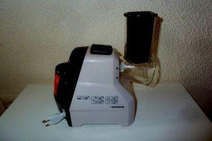 rallador electrico de verduras
