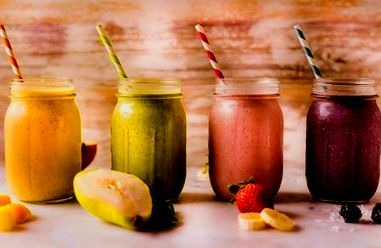 batidos de frutas recetas