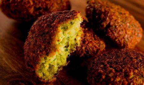 falafel receta facil