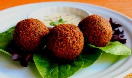 falafel receta sana