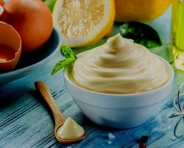 mayonesa casera sin huevo