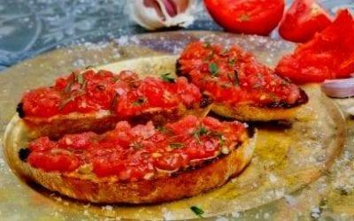 Receta de Pan Tumaca Fácil y Deliciosa